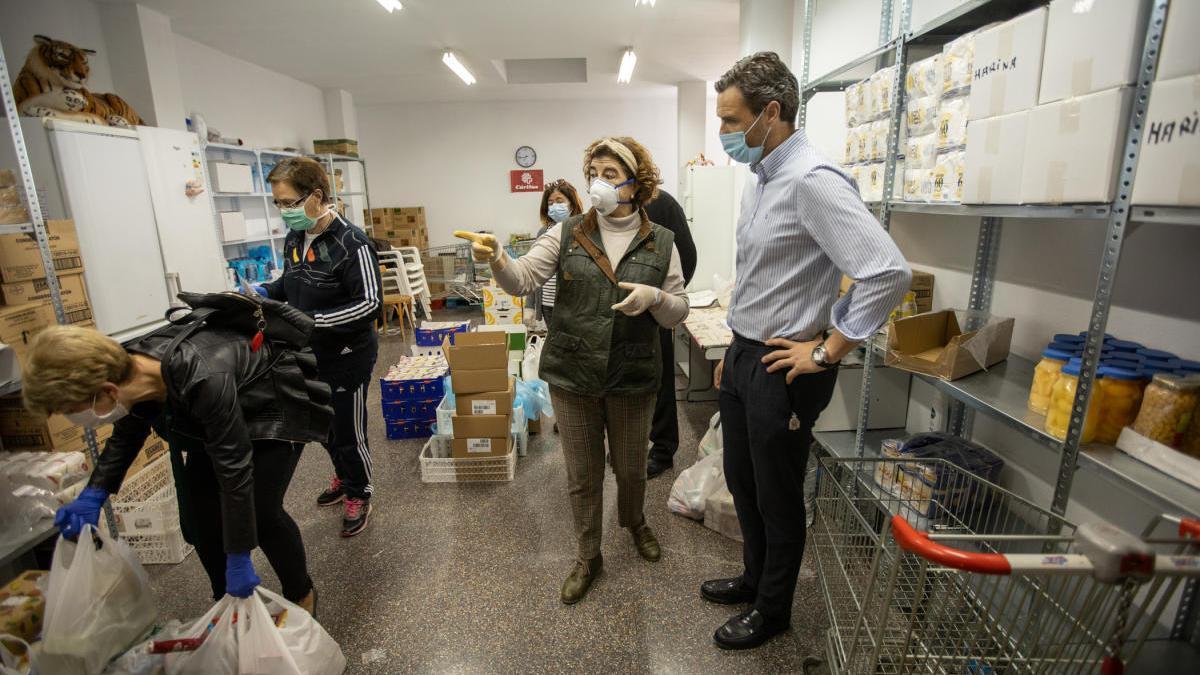 El Ayuntamiento de Caravaca destinará este año una ayuda de 21.000 euros a Cáritas