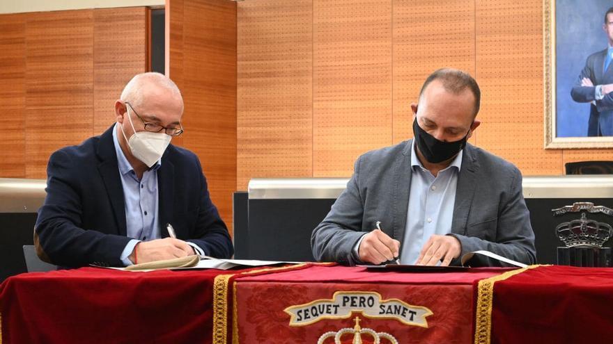 San Vicente y Sant Joan firman un convenio con la Generalitat para poder ampliar el parque público de viviendas