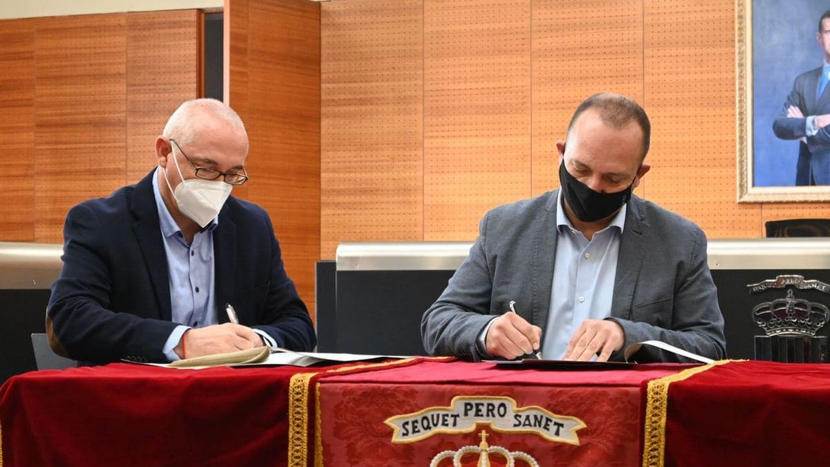 San Vicente signs an agreement with the Generalitat to expand the public housing stock