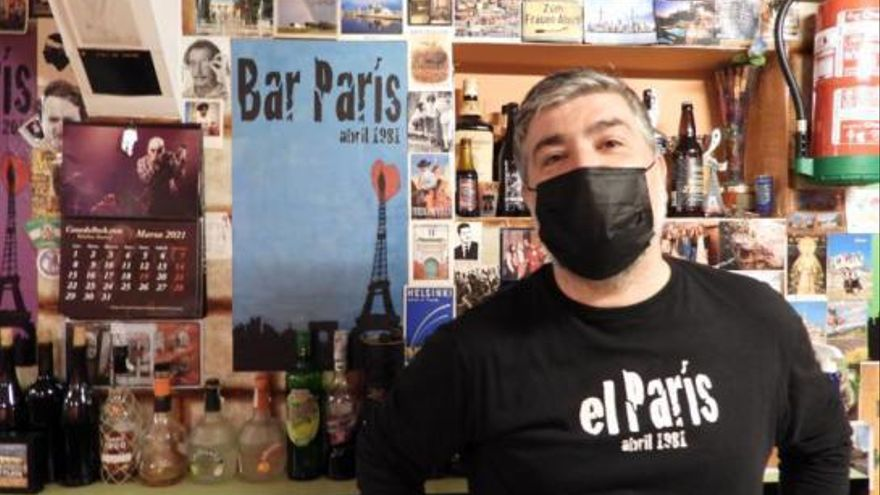 """El 'París' cumple 40 años: """"Para mí es más que un negocio, es una forma de vivir"""""""