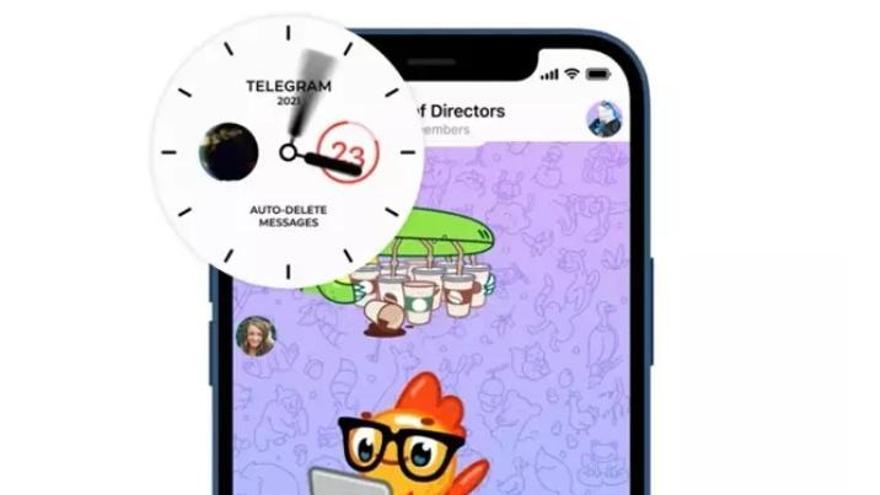 Telegram lleva los mensajes que se autoeliminan a todos los chats y crea los grupos de difusión ilimitados