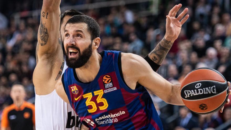 Mirotic se exhibe en el triunfo del Barça ante el Olympiacos