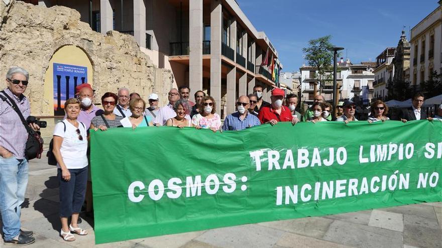 Aire Limpio pide al gobierno local que impida que Cosmos incinere residuos