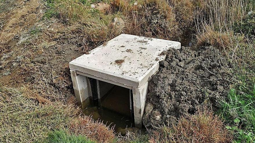 Castelló manté el drenatge i les aigües salobres a la Rubina