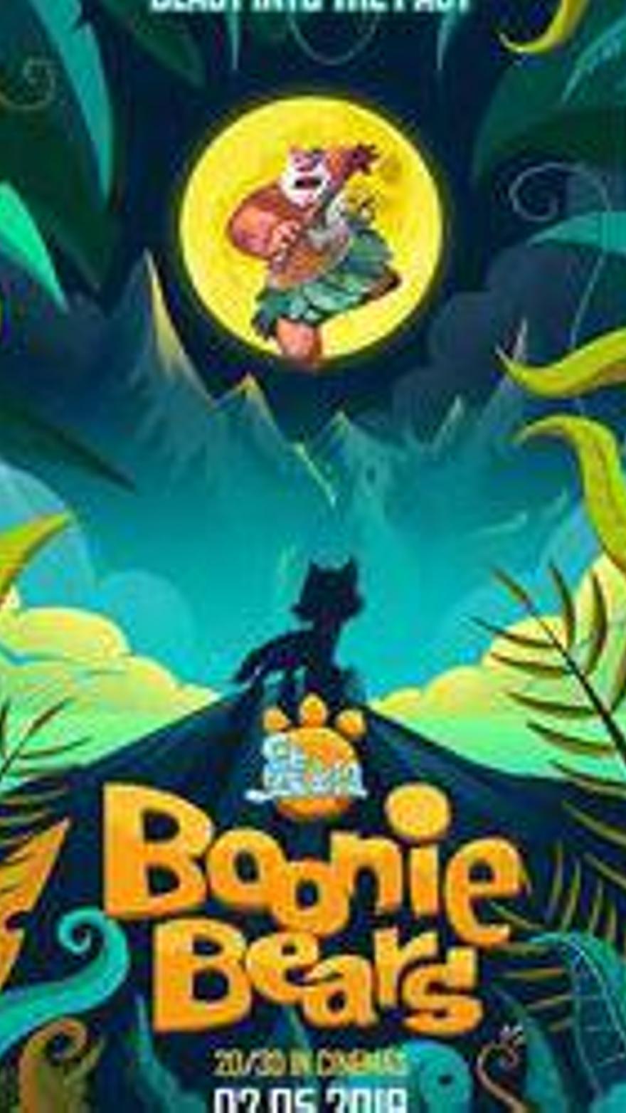 Boonie Bears: Aventura en la prehistoria