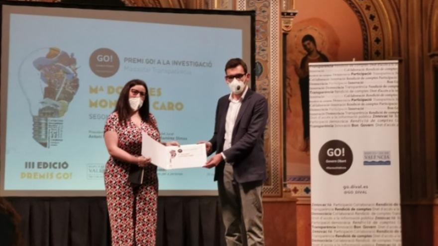 Premiada la profesora de la UCO María Dolores Montero en materia de transparencia