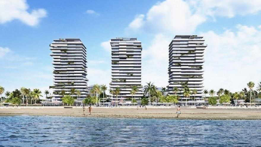 """Metrovacesa iniciará """"de manera inminente"""" la construcción de la primera torre de Málaga Towers"""