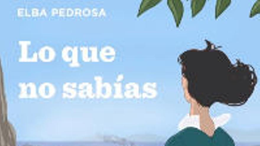 La escritora tinerfeña Elba Pedrosa publica 'Lo que no sabías'