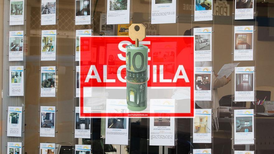 Los gallegos declaran casi 800 millones de euros al año en alquileres de viviendas