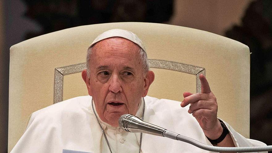 """Papa Francisco: """"Son hijos de Dios, tienen derecho a una familia"""""""