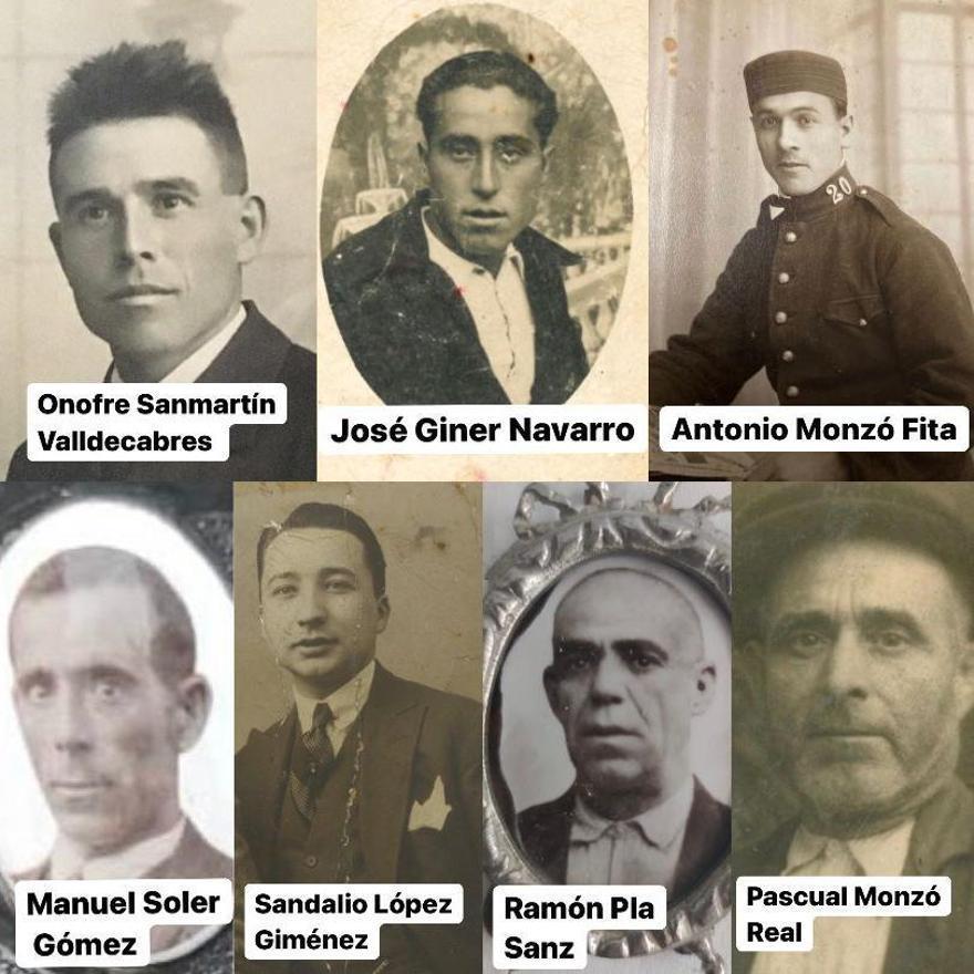 Algunas de las víctimas de Quart