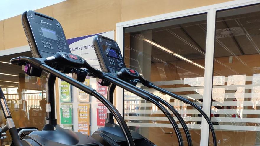 La sala de fitness de la Piscina Municipal de Roses, millorada després del Carnaval