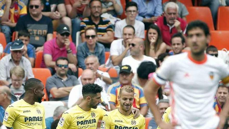 Un sólido Villarreal logra el quinto puesto ante un Valencia irregular