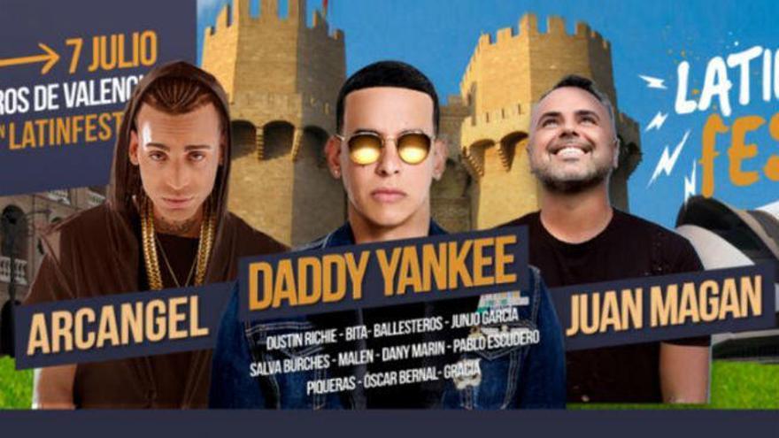 Daddy Yankee, Arcangel y Juan Magán se dan cita en el Latin Fest