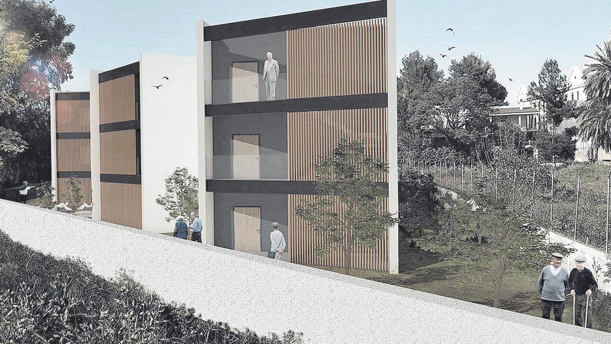 Recreación digital de una de las residencias del Malecón por ThorSpain