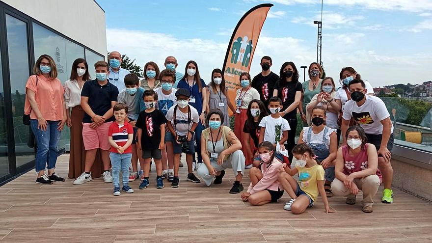 Reunión de familias con enfermedad renal en Culleredo