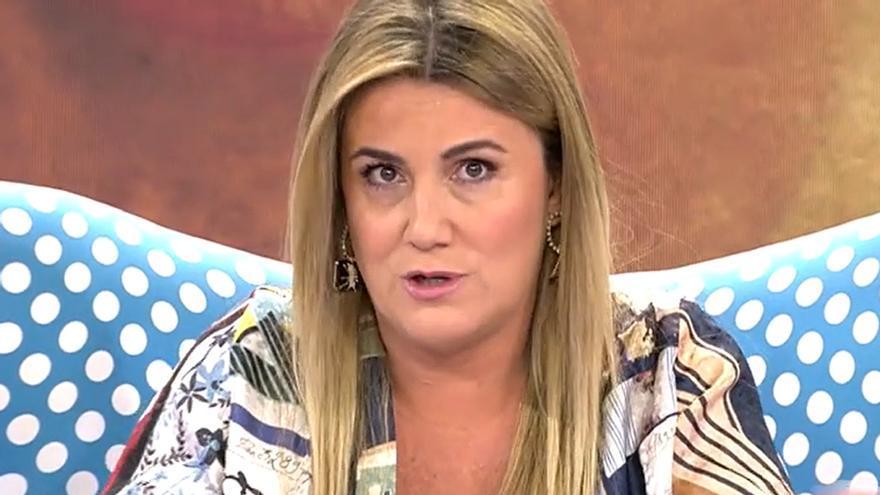 """Carlota Corredera desvela en Sálvame su estado de salud: """"Estoy alerta ante cualquier aviso"""""""