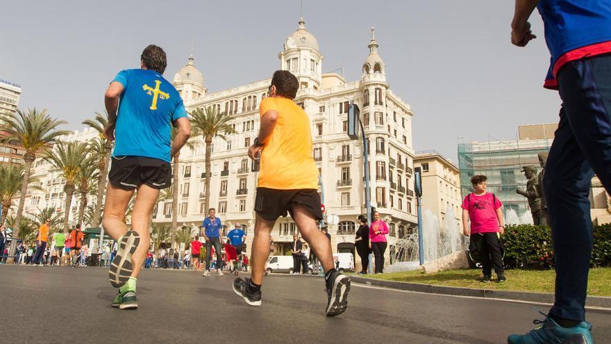 La 26ª Media de Alicante limita  a 1.500 la cifra de corredores