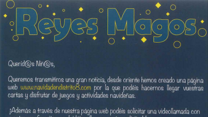 Cabalgata virtual de Reyes Magos