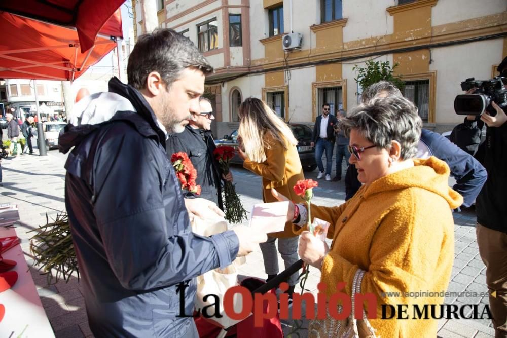 Joaquín López visita Calasparra junto al alcalde J