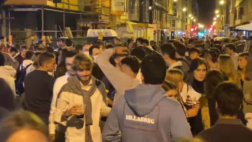 Nueva noche de botellones en varias localidades de España