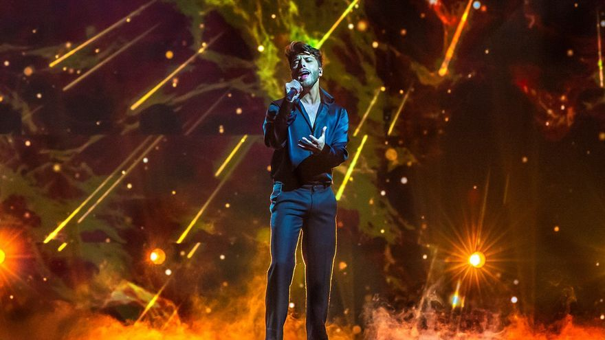 Blas Cantó actuará en la primera mitad de la gran final de Eurovisión 2021