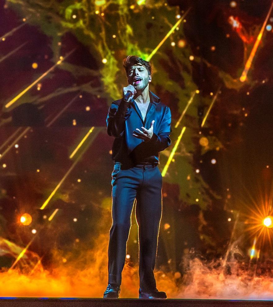Blas Cantó actuará en la primera mitad de la gran final de Eurovisión 2021
