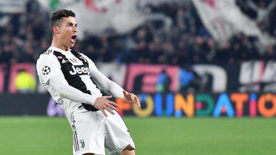 La polémica celebración de Cristiano Ronaldo