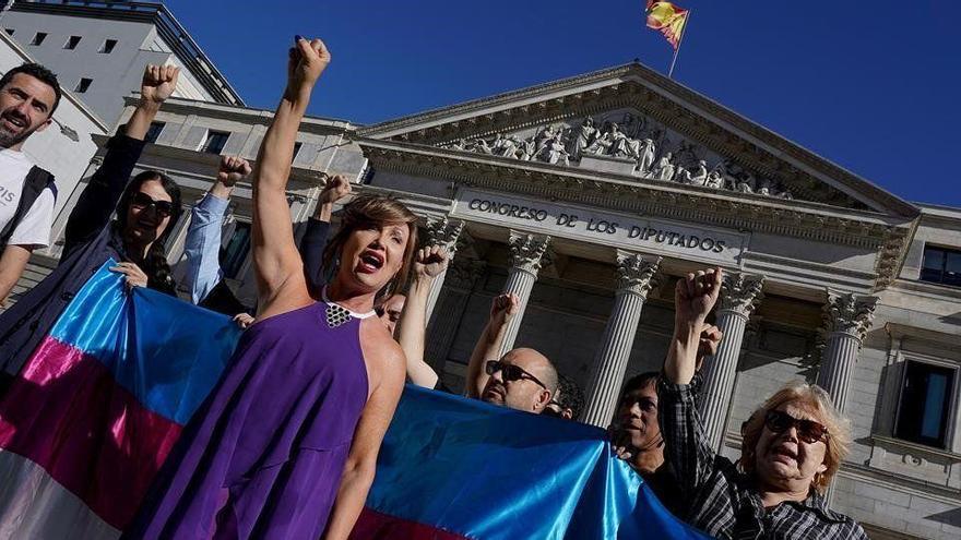 Respaldo mayoritario al borrador de la ley trans