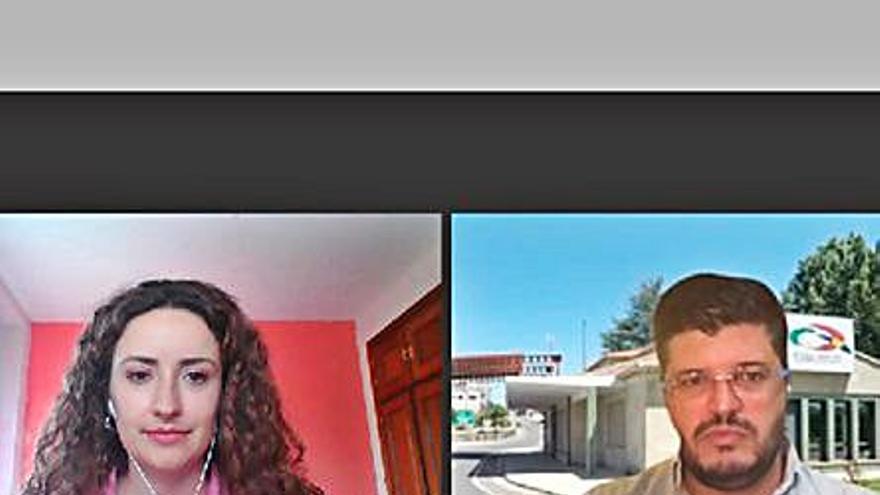 Chaves y Verín buscan una mejor comunicación en casos de emergencia