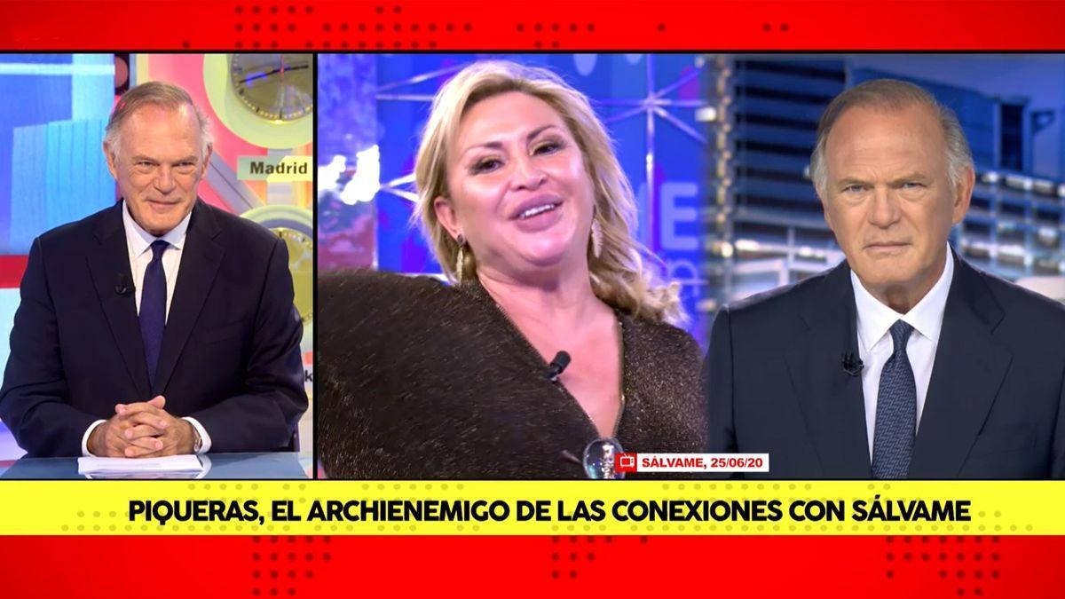 Pedro Piqueras en 'Los teloneros'.