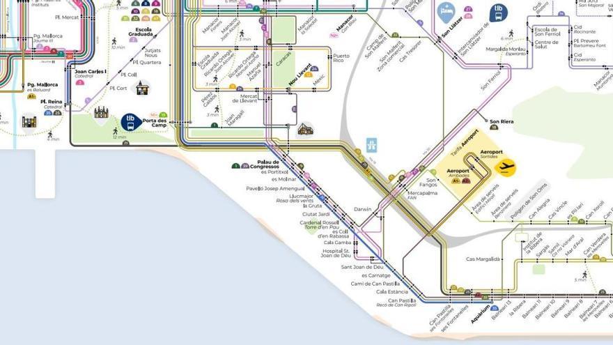 Neue Buslinien für Mallorca-Airport und Playa de Palma