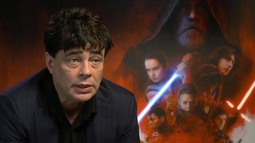 """Benicio del Toro afirma que """"Star Wars"""" es la """"culminación a mi carrera"""""""