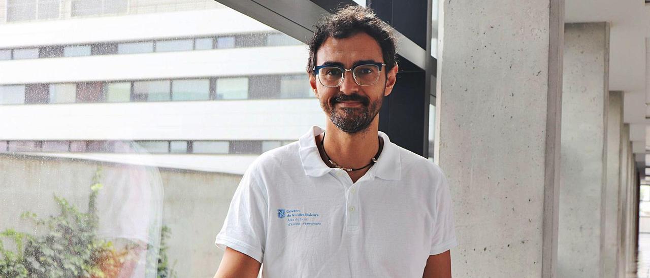 El doctor Daniel Hernández, coordinador médico del servicio de Urgencias del Centro de Salud de Sant Antoni.