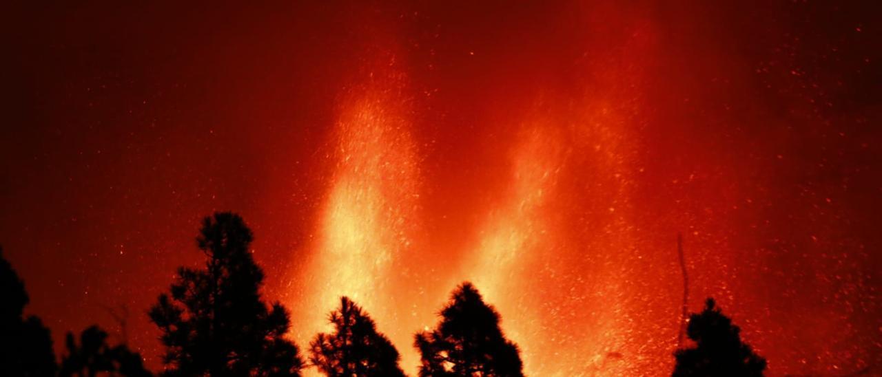 Ríos de fuego en La Palma
