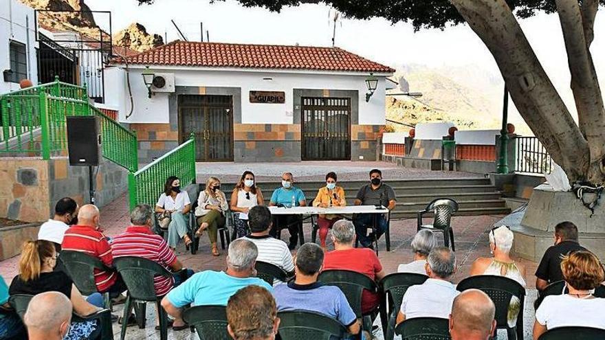 Un asentamiento de suelo rural potencia la residencia en las medianías