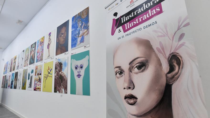 'Ilustradoras & ilustradas', exposición en el Club La Provincia
