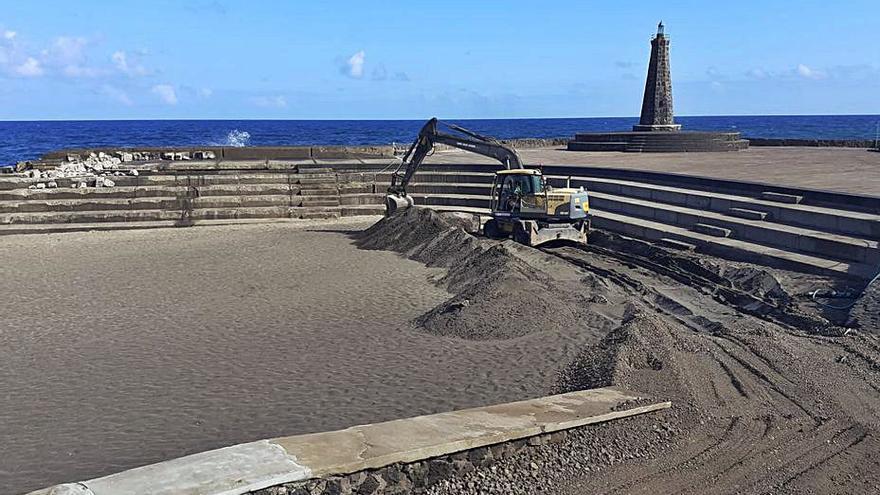 Ocho meses sin  playa en Bajamar