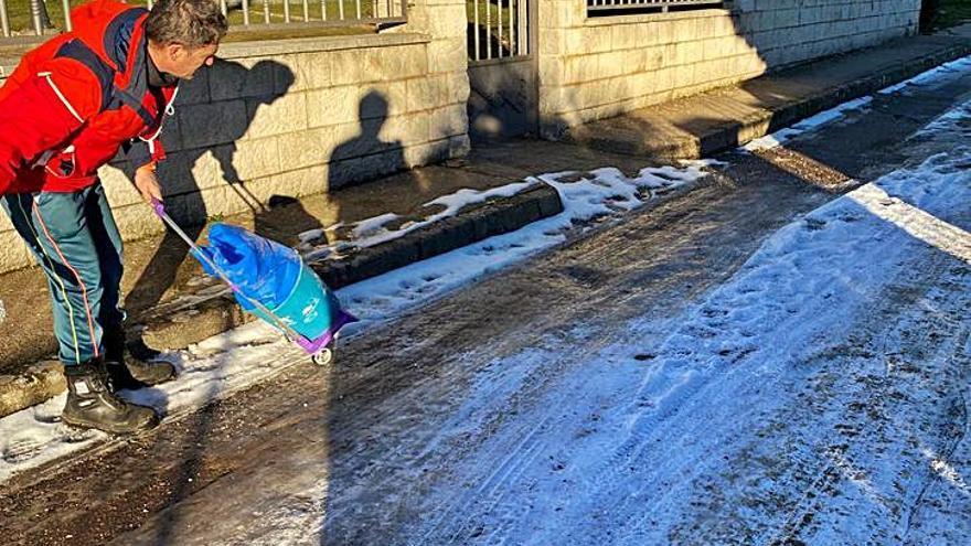 Cencellada en Zamora | La batalla contra el hielo en la provincia