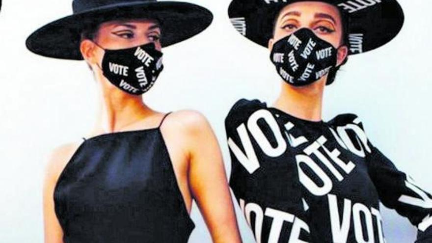 La moda entra en la campaña de EE UU