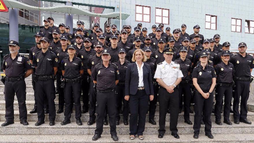 La Policía Nacional de Canarias incorpora a 131 agentes en prácticas