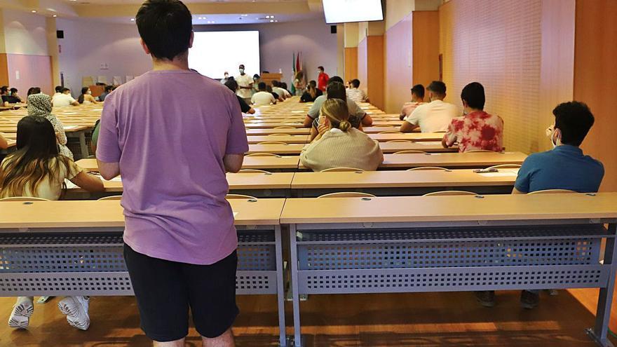 Las pruebas de Selectividad examinarán  desde mañana a más 4.500 estudiantes