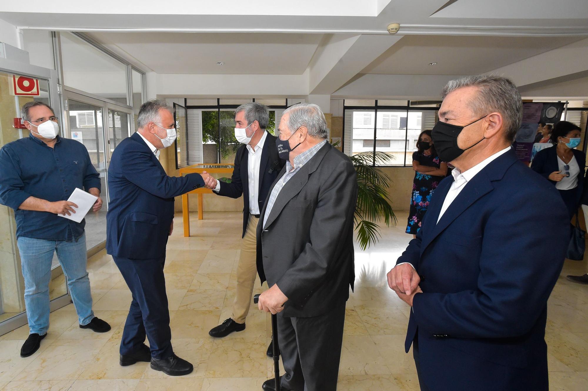 Cuatro presidentes canarios hablan del REF en la ULPGC
