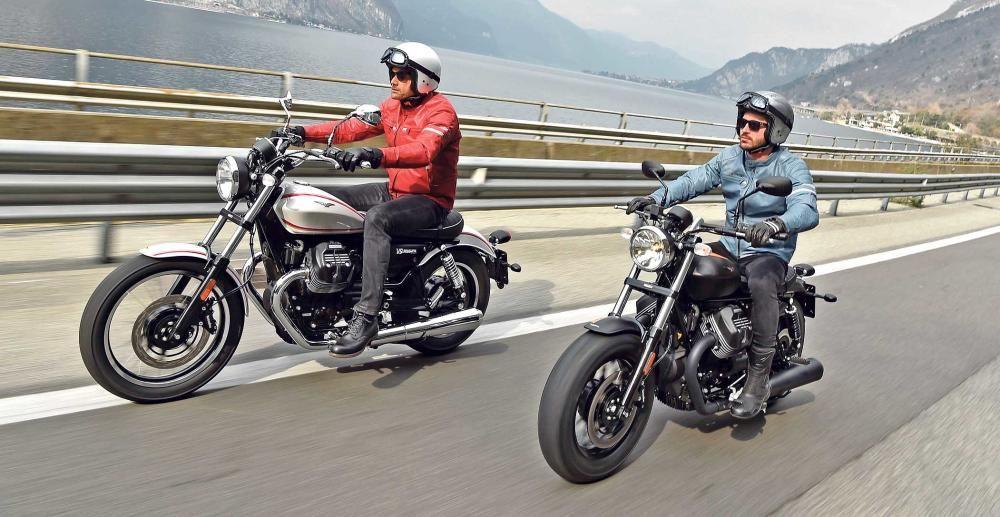 Moto Guzzi V9, Roamer y Bobber, carácter rebelde