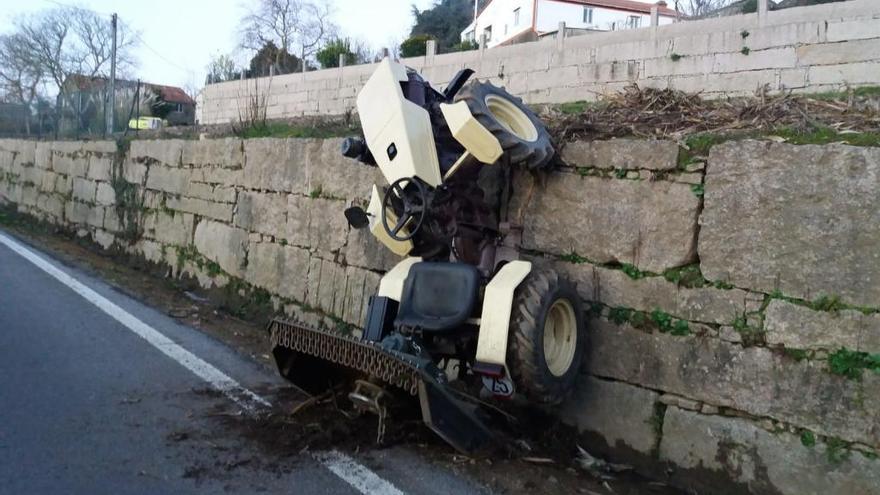 Fin de semana aciago en las carreteras gallegas: 56 accidentes y 75 lesionados