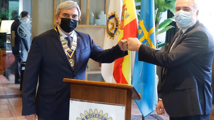 Máximo honor rotario para el alma de Proyecto Hombre en Asturias