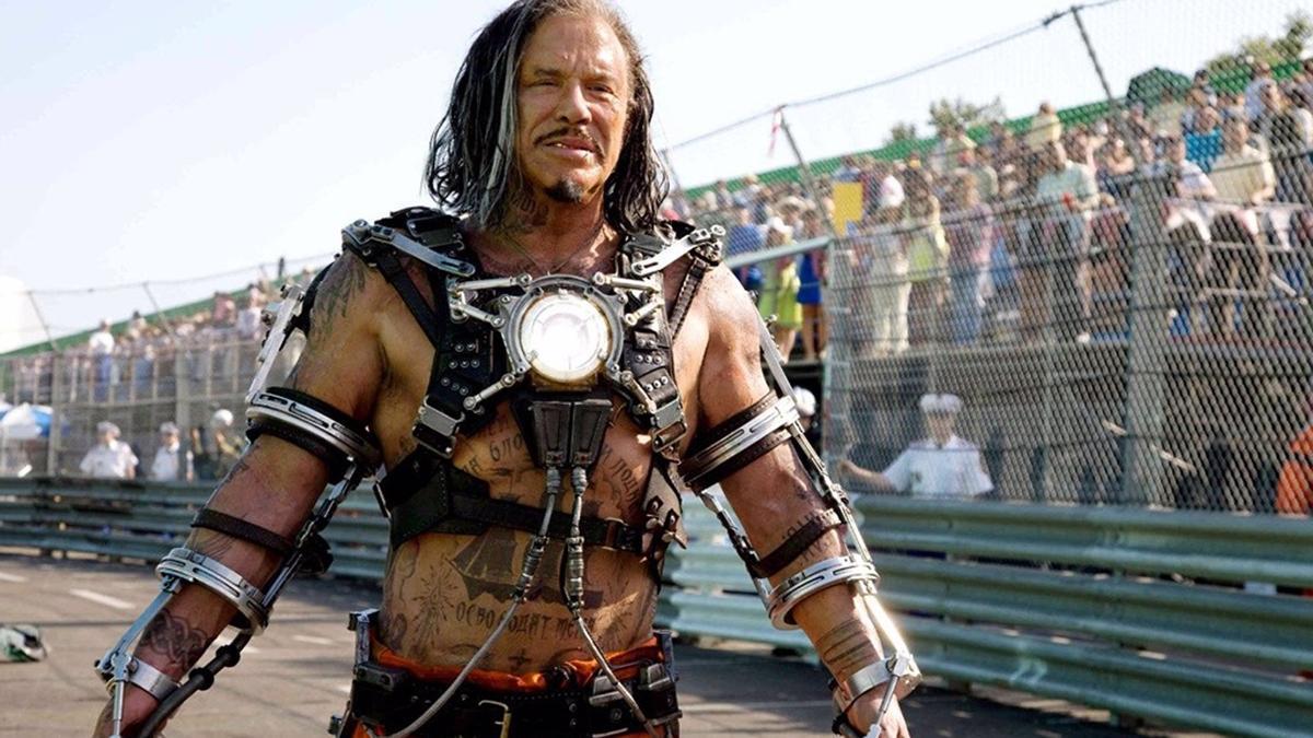 Mickey Rourke en 'Iron man 2'.