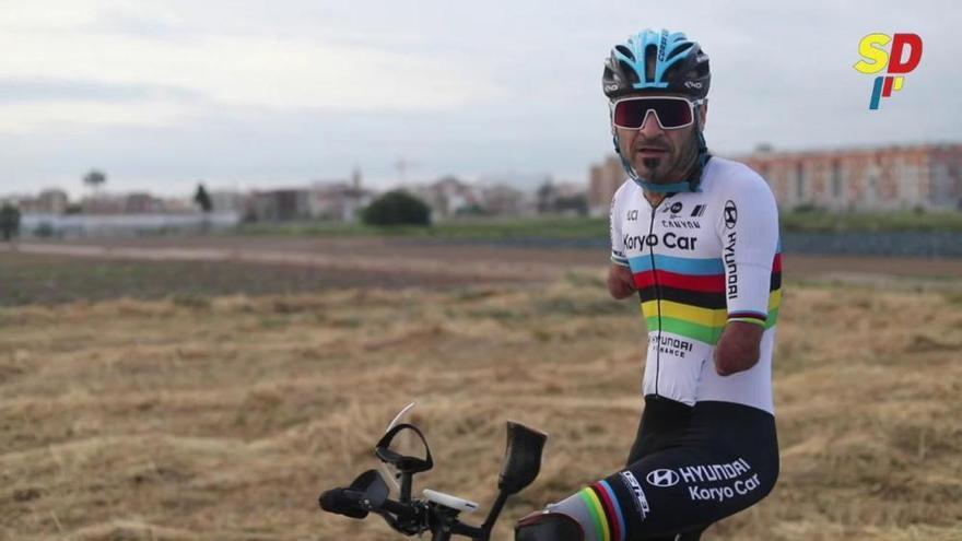 Ricardo Ten retoma los entrenamientos en bici en la Fase 0