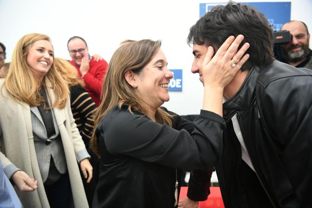 Inés Rey, candidata del PSOE a las municipales