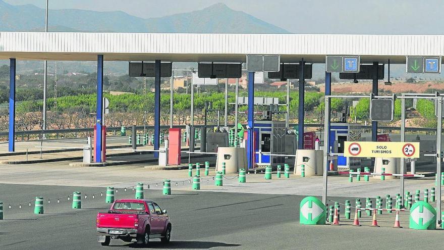 El precio del peaje Cartagena-Vera bajará en torno a un 30 % en enero
